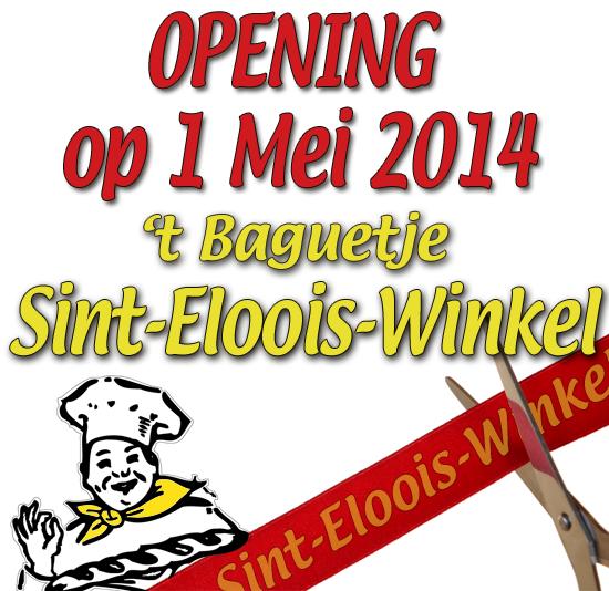 Opening Sint-Eloois-Winkel