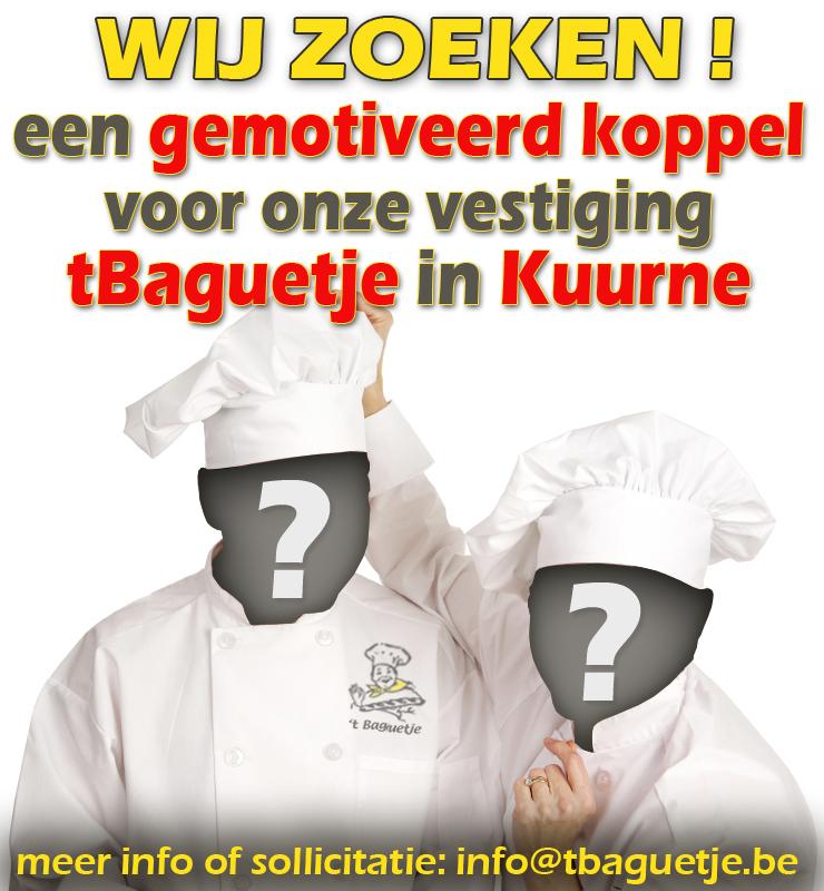 Wij zoeken voor Kuurne !